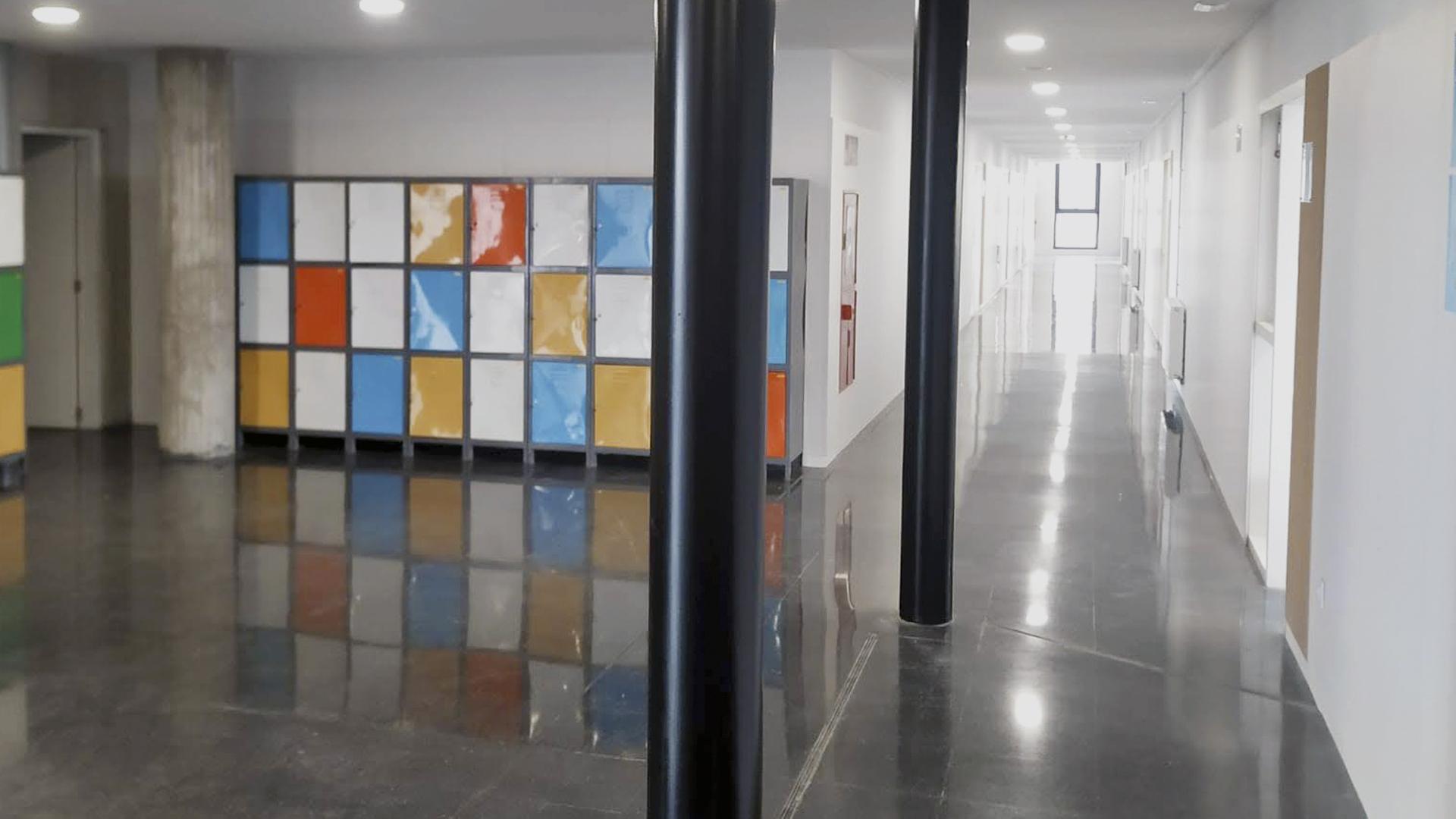 Interior Institut Brugulat a Banyoles